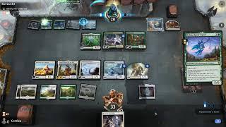 TSC LIVE HD MTGA: Magic the Gathering Online Arena : Corriea Ozolith vs a Typical Elemental deck