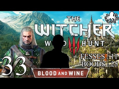 The Witcher 3 : Blood and Wine #33 - Le Doyen des Invisibles | Let's Play FR