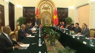 Tin Tức 24h Mới Nhất Hôm Nay: Thúc đẩy quan hệ Việt Nam - Angola