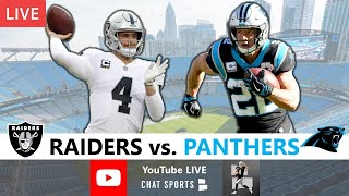 Raiders vs. Panthers Live Streaming Scoreboard, Play-By-Play, Highlights & Stats | NFL 2020 Week 1