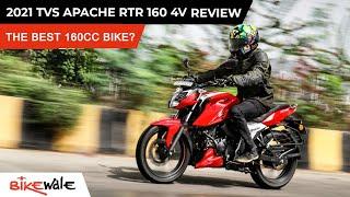 2021 TVS Apache RTR 160 4V BS6 Review | Better Than Bajaj Pulsar NS160, Hero Xtreme 160R? | BikeWale