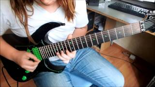 stratovarius winter skies (solo) guitar