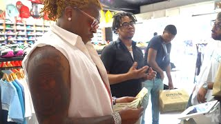 Gunna Goes Shopping For Sneakers With CoolKicks