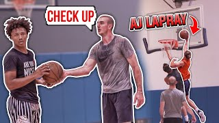 ALEX CARUSO and MIKEY WILLIAMS show up and the PRO RUNS get INTENSE 🔥| Jordan Lawley Basketball