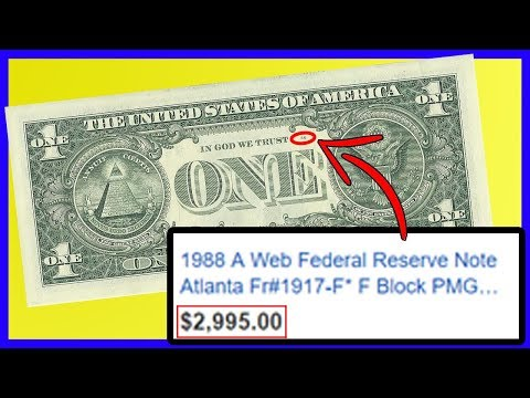 $1 Bill WORTH THOUSANDS! Check If You Have One NOW! Rare Dollar Bills Worth Money!