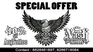 Eagle Tattoo Design# NASH TATTOOS : 8828461897, 8286719084