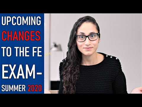 New FE Exam July 2020 - YouTube
