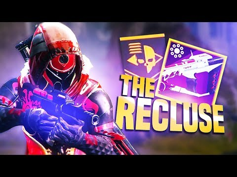 using the recluse is like cheating in Destiny 2...