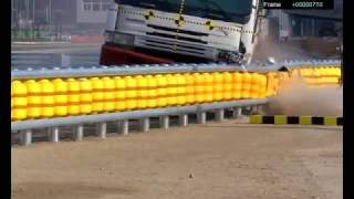 SAFETY ROLLER CRASH (SHOCK ABSORBING FENCE) [ROAD SAFETY]