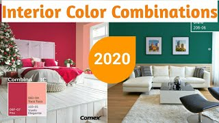Bedroom Colors 2020| PPG Color Combinations|  Colour Combinations For Hall| Living Room Colors