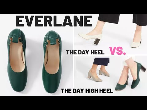 EVERLANE REVIEW – The Day Heel Vs. The Day High Heel Comparison | Alexastylebook