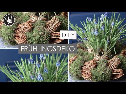 Dekokranz mit Weiden und Moos - Der Frühling hält Einzug!