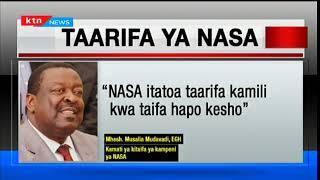 NASA waahirisha tangazo ya msimamo wao kuhusu utetezi wa uchaguzi mkuu