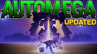 I AM THE AUTOMEGA!!! Atomega Game On Steam PC Gameplay Ft Map Update
