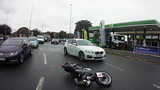 Bad UK Drivers and Road Rage vs Bikers #31