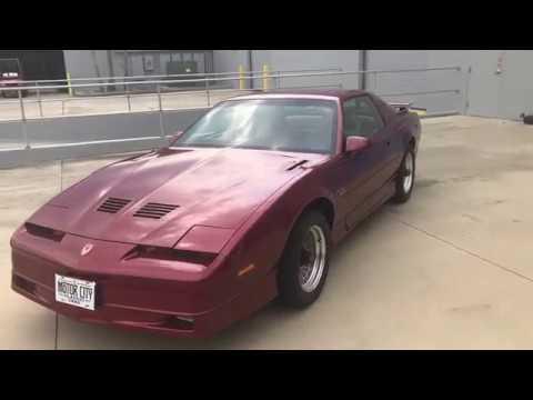 Video of '87 Firebird - NBOC