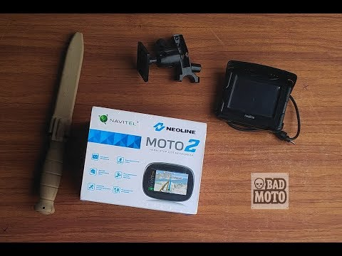 Навигатор для снегохода, квадроцикла, мотоцикла NEOLINE МОТО2