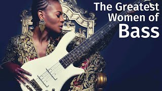10 of the Greatest Bass Women Ever