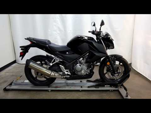 2016 Honda CB300F in Eden Prairie, Minnesota - Video 1