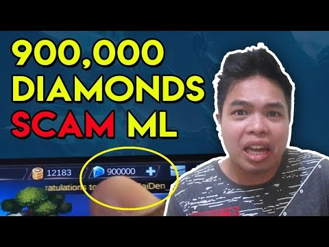 900K Diamond Scam Cheat, Mobile Legends