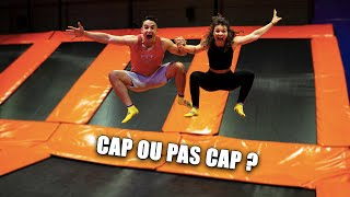 NOS TROIS ANS EN COUPLE AU TRAMPOLINE PARK ! (Cap ou pas Cap ?) ft. @Tibo InShape