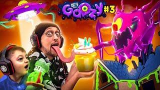 GOOZY Secret Hide and Seek Challenge! Get the Golden Cupcake OUTSIDE! (FGTeeV Escapes #3)
