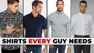 5 Shirts EVERY GUY Needs In His Closet   Alex Costa