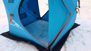 Альпика палатка зимняя