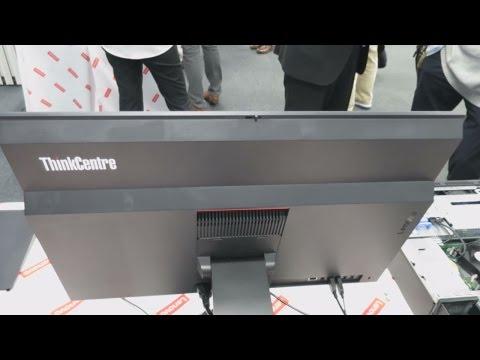 【速報】ThinkCentre M800z All In One(AIO)の外観チェック[シンクセンターM800zオールインワン,レノボ,Lenovo]