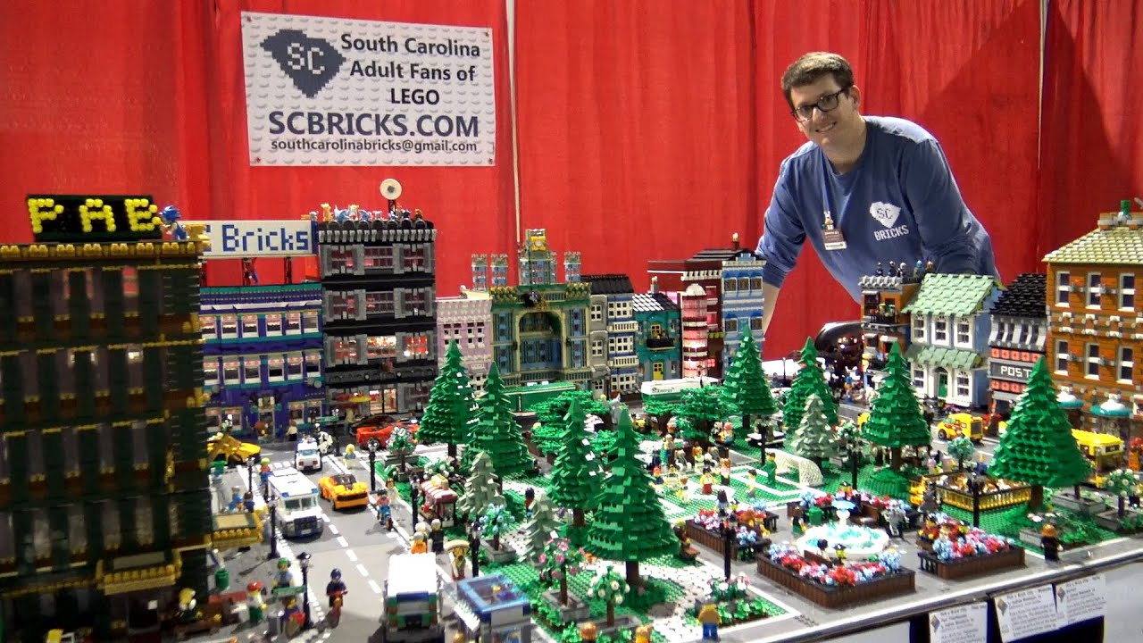 LEGO Pick a Brick City at BrickFair Alabama 2020