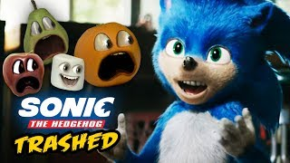Annoying Orange   Sonic The Hedgehog Trailer TRASHED!
