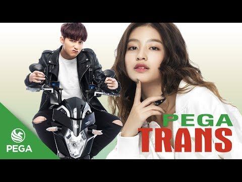 Quảng cáo xe máy điện Pega Trans