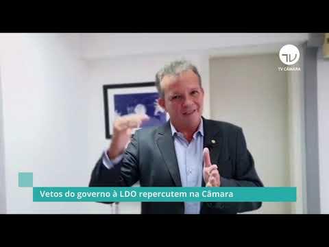 Vetos do governo à LDO repercutem na Câmara - 08/01/21
