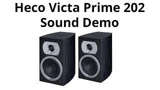 Heco Victa Prime 202  Sound Demo