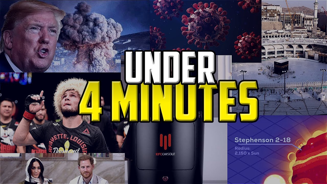 2020 UNDER 4 MINUTES!