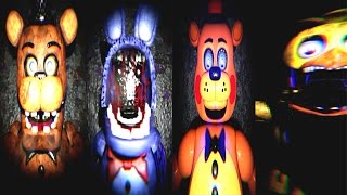 Five Nights at Freddy's 2 3D Free Roam UE4 JUMPSCARES & ENDING