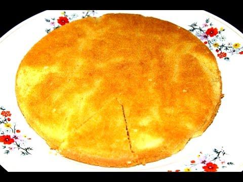 Video Sponge Cake in Pressure Cooker