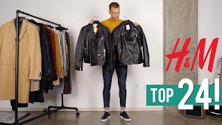My Top 24 Favorite H&M Pieces For This Fall   Men's Fashion 2019   Shopping Haul