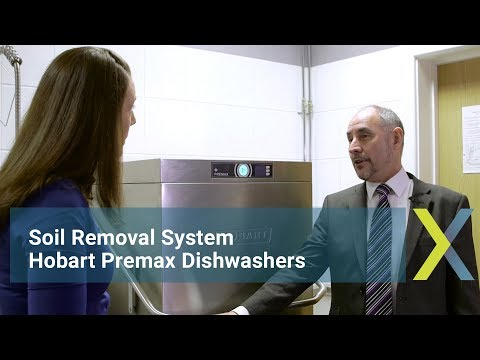 Soil Removal System: Hobart Premax Dishwashers