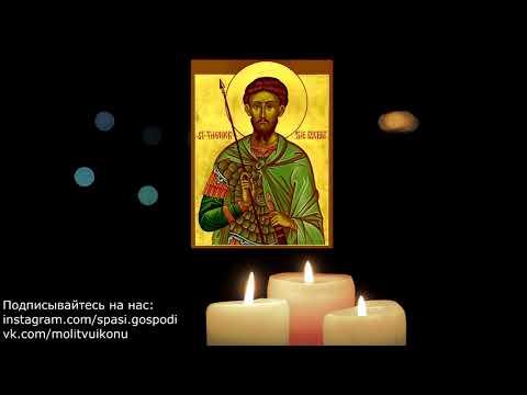 Молитва о возвращении потерянного(украденного) Феодору Тирону