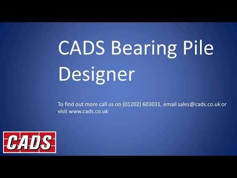 CADS Bearing Pile Designer