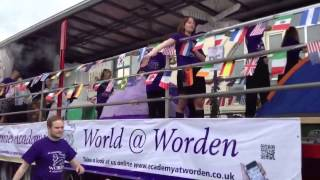 preview picture of video 'Academy@Worden Float at the Leyland Festival'