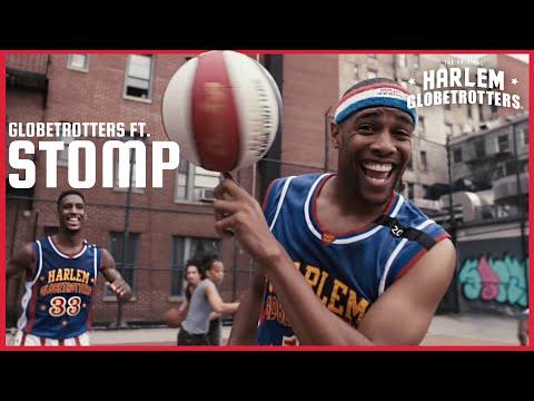 סרטון מקפיץ של פעלולי כדורסל מתואמים