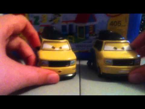 Cars 2 Sumo Reslers/character Encyclopedia