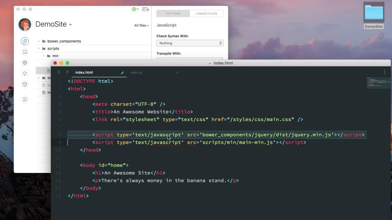 CodeKit - JavaScript