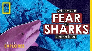 Where Our Fear of Sharks Came From | Nat Geo Explores thumbnail