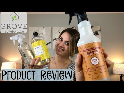 GROVE COLLABORATIVE PRODUCT REVIEW :: MRS MEYERS :: CALDREA :: METHOD