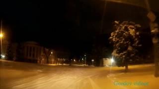 Луганск  Скользкая дорога