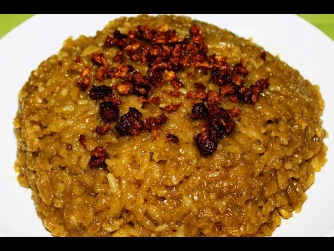 How to Cook Biko or Kakanin Recipe