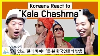 Koreans React to Bollywood(Indian) Song